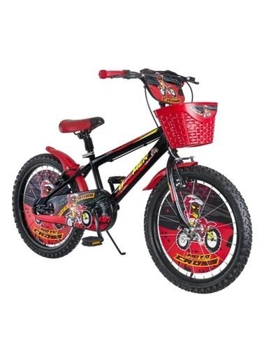 Rival 20 Jant Beemer 7-10 Yaş Arası Çocuk Bisikleti Zil-Ayna-Takviye Denge Tekeri Hediyeli Kırmızı